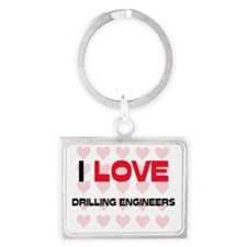 DRILLING-ENGINEERS6 Landscape Keychain