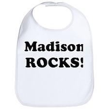 Madison Rocks! Bib