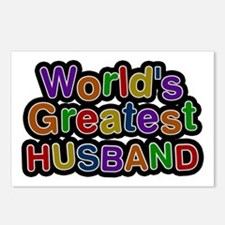 World's Greatest Husband Postcards 8 Pack
