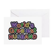 World's Greatest Husband Greeting Card