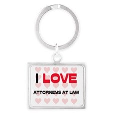 ATTORNEYS-AT-LAW137 Landscape Keychain