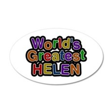 World's Greatest Helen Wall Decal