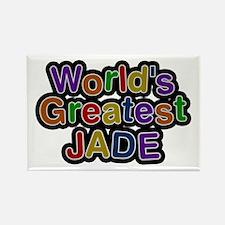 World's Greatest Jade Rectangle Magnet