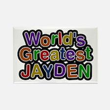 World's Greatest Jayden Rectangle Magnet
