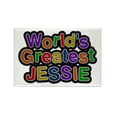 World's Greatest Jessie Rectangle Magnet