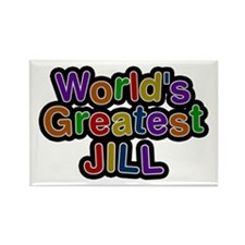 World's Greatest Jill Rectangle Magnet