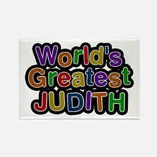 World's Greatest Judith Rectangle Magnet