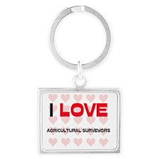 AGRICULTURAL-SURVEYO47 Landscape Keychain