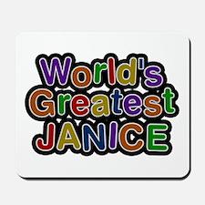 World's Greatest Janice Mousepad