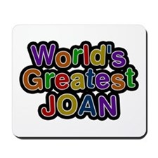 World's Greatest Joan Mousepad