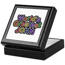 World's Greatest Joan Keepsake Box