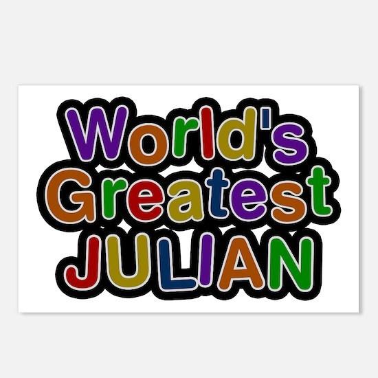 World's Greatest Julian Postcards 8 Pack