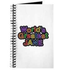 World's Greatest Jane Journal