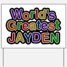 World's Greatest Jayden Yard Sign