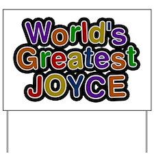 World's Greatest Joyce Yard Sign
