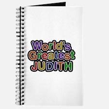 World's Greatest Judith Journal
