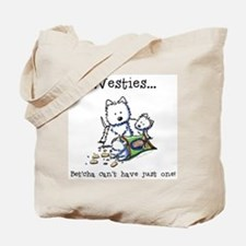 Westies Addict Tote Bag