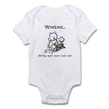 Westies Addict Infant Bodysuit