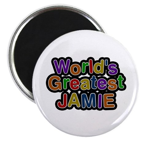 World's Greatest Jamie Round Magnet