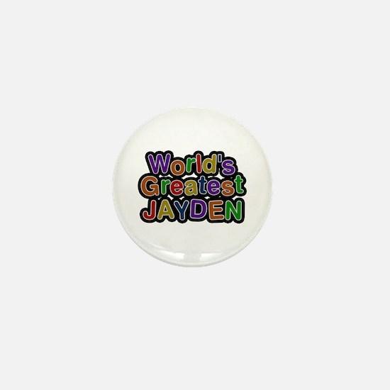 World's Greatest Jayden Mini Button