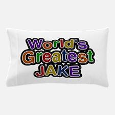 World's Greatest Jake Pillow Case