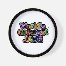 World's Greatest Jade Wall Clock