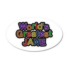World's Greatest Jane Wall Decal