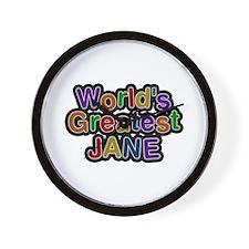 World's Greatest Jane Wall Clock