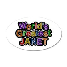 World's Greatest Janet Wall Decal