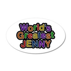 World's Greatest Jenny Wall Decal