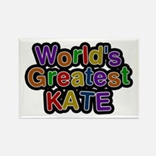 World's Greatest Kate Rectangle Magnet