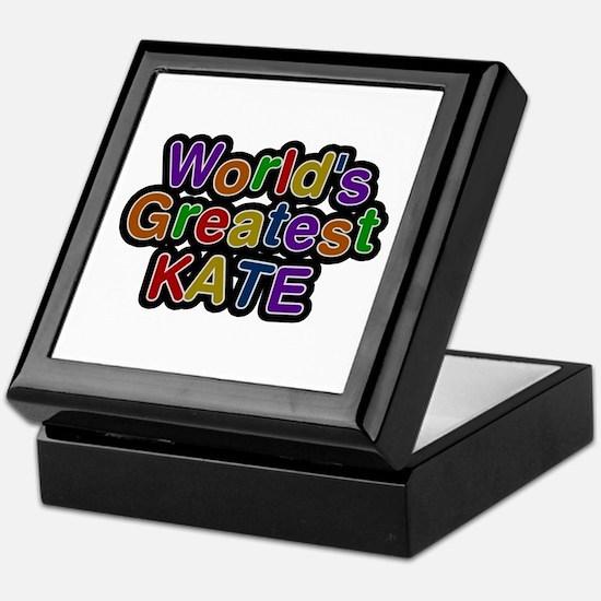 World's Greatest Kate Keepsake Box