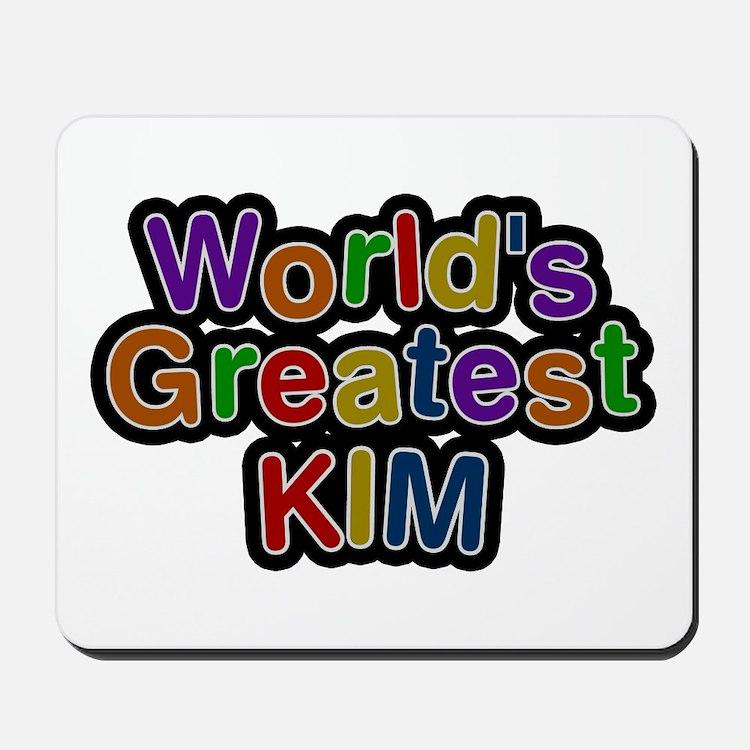 World's Greatest Kim Mousepad