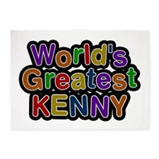 World's Greatest Kenny 5'x7' Area Rug