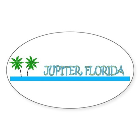 Jupiter, Florida Oval Sticker