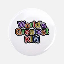 World's Greatest Kim Big Button