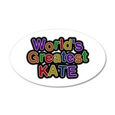 World's Greatest Kate Wall Decal
