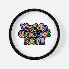 World's Greatest Kate Wall Clock