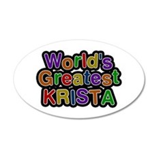 World's Greatest Krista Wall Decal