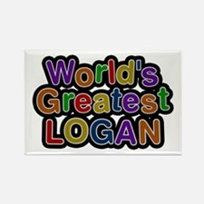 World's Greatest Logan Rectangle Magnet