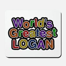 World's Greatest Logan Mousepad