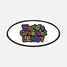 World's Greatest Leroy Patch