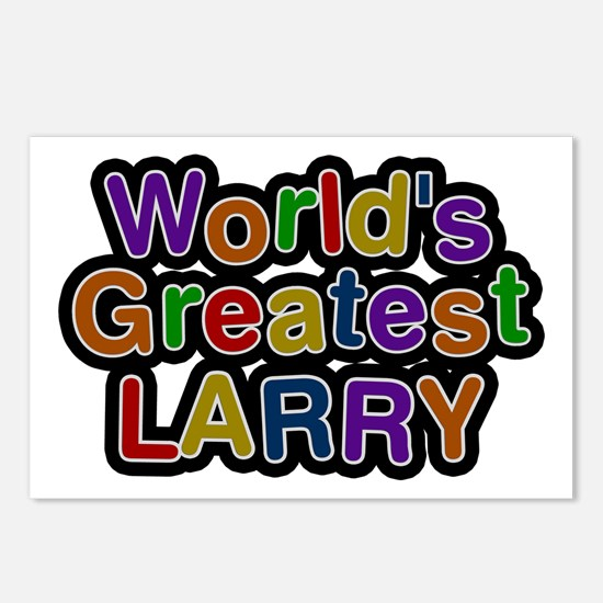 World's Greatest Larry Postcards 8 Pack