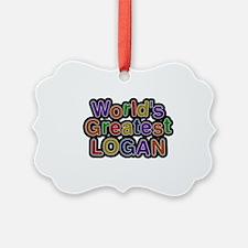 World's Greatest Logan Ornament