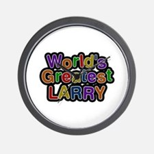 World's Greatest Larry Wall Clock