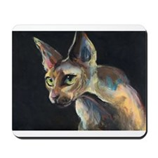 Sphynx cat 19  Mousepad