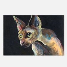 Sphynx cat 19  Postcards (Package of 8)