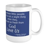Children Fresh from God Love Large Mug