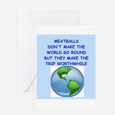 meatballs Greeting Card