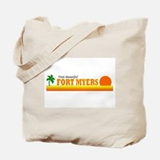 Visit Beautiful Fort Myers, F Tote Bag